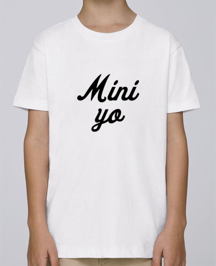Camiseta de cuello redondo Stanley Mini Paint Mini yo por tunetoo