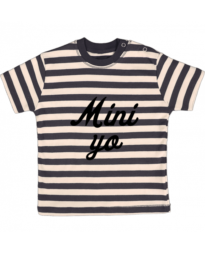 Camiseta Bebé a Rayas Mini yo por tunetoo