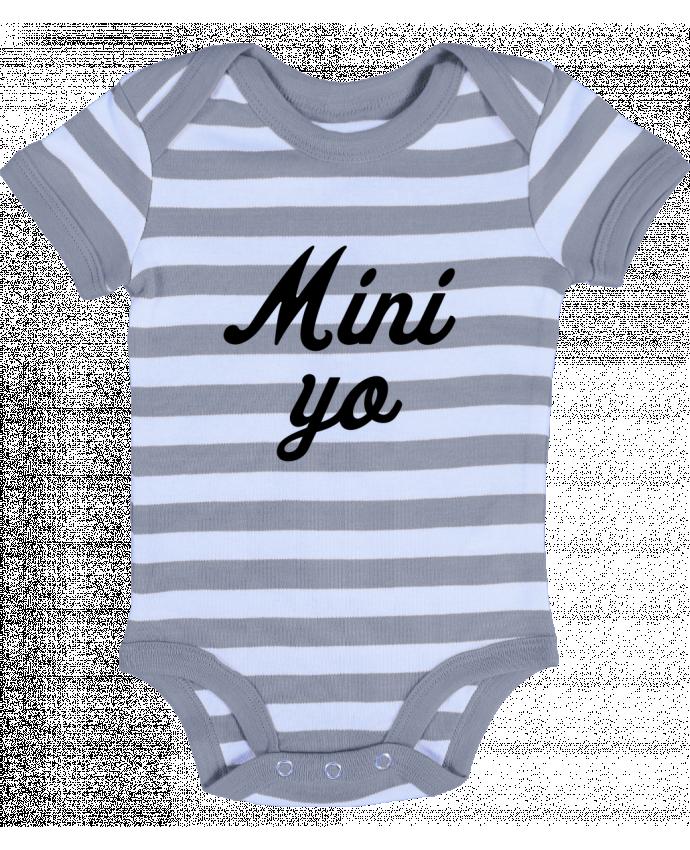 Body Bebé a Rayas Mini yo - tunetoo