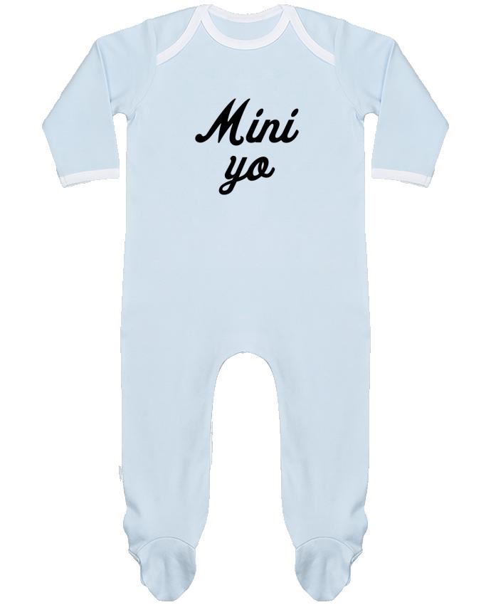 Pijama Bebé Manga Larga Contraste Mini yo por tunetoo