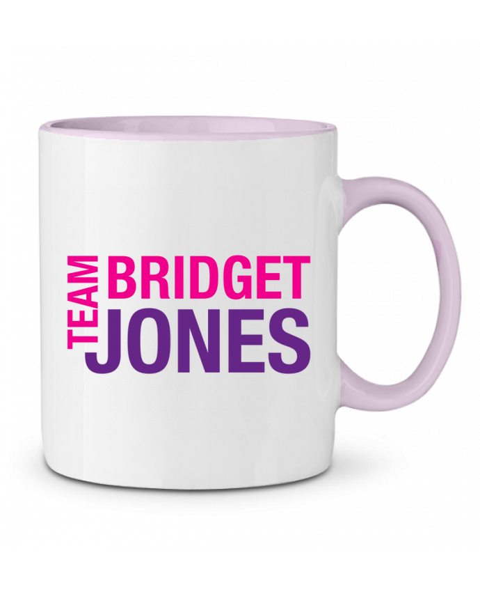 Taza Cerámica Bicolor Team Bridget Jones tunetoo