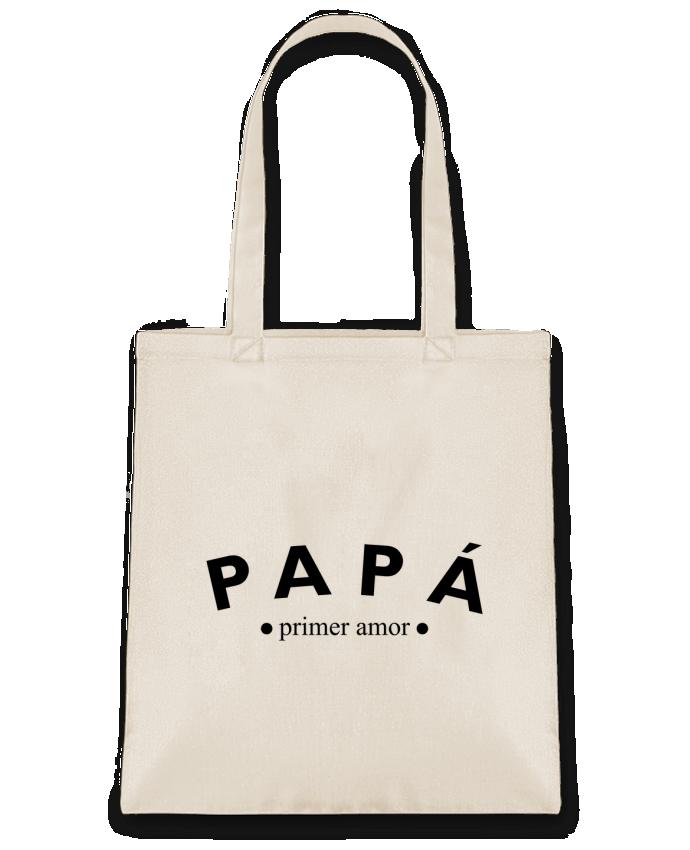 Bolsa de Tela de Algodón Papá primer amor por tunetoo
