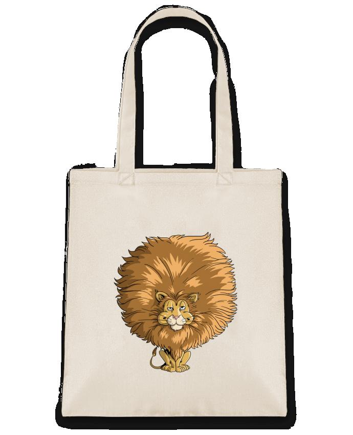Bolsa de Tela de Algodón Lion à grosse crinière por Tomi Ax - tomiax.fr