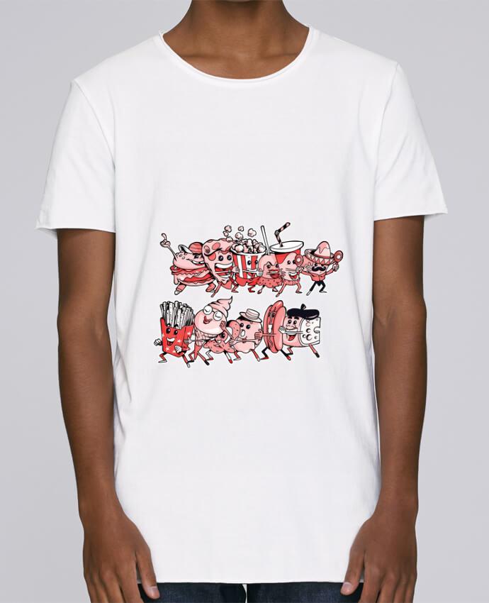 Camiseta Hombre Tallas Grandes Stanly Skates Snacking et fiesta por Tomi Ax - tomiax.fr