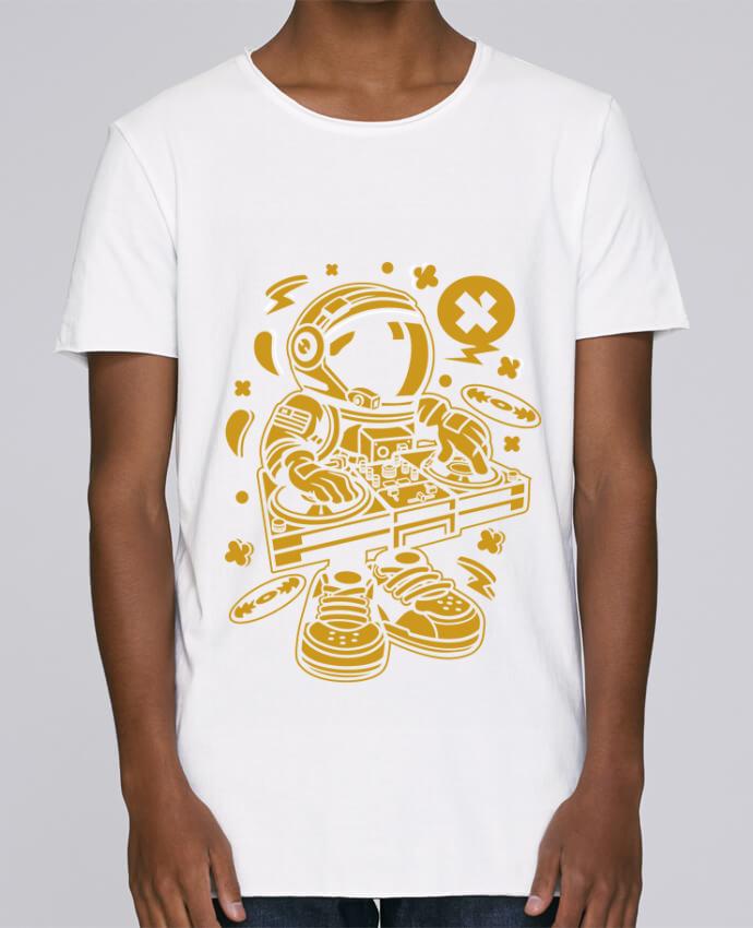 Camiseta Hombre Tallas Grandes Stanly Skates Dj Astronaute Golden Cartoon | By Kap Atelier Cartoon por Kap Atel