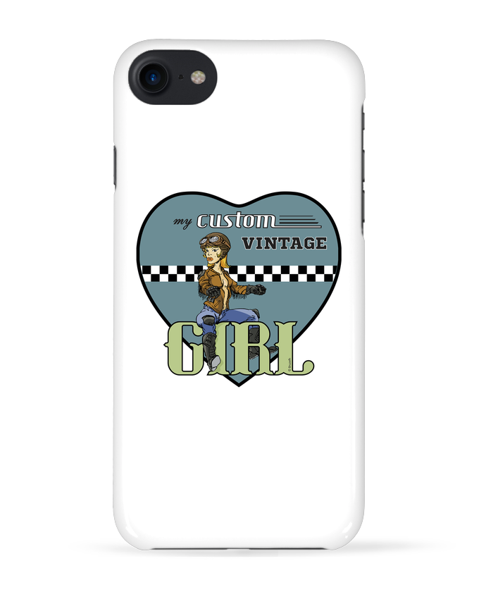 Carcasa Iphone 7 My custom vintage girl de BRUZEFH