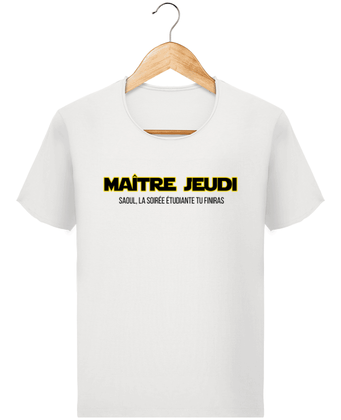 Camiseta Hombre Stanley Imagine Vintage Maître jeudi por tunetoo