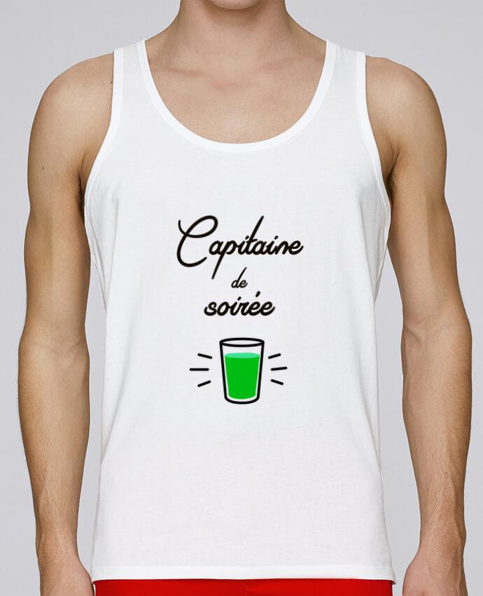 Camiseta de tirantes algodón orgánico hombre Stanley Runs Capitaine de soirée por Lamouchenoire38 100% coton bio