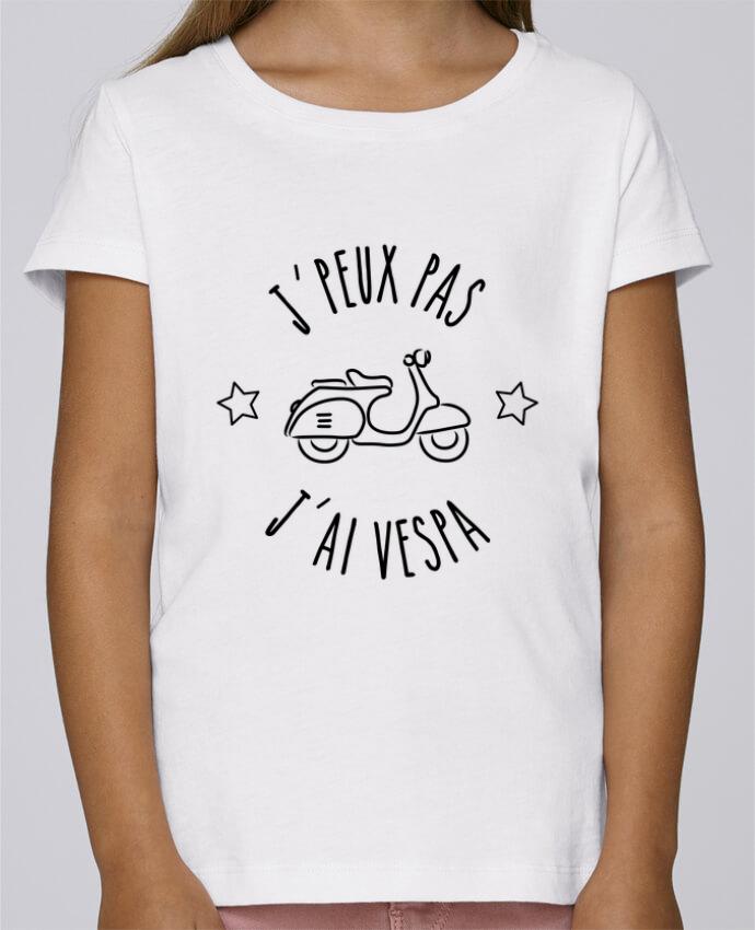 Camiseta Niña Stella Draws j'peux pas j'ai vespa por Lamouchenoire38
