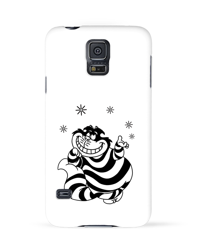 Carcasa Samsung Galaxy S5 Cheshire cat por tattooanshort