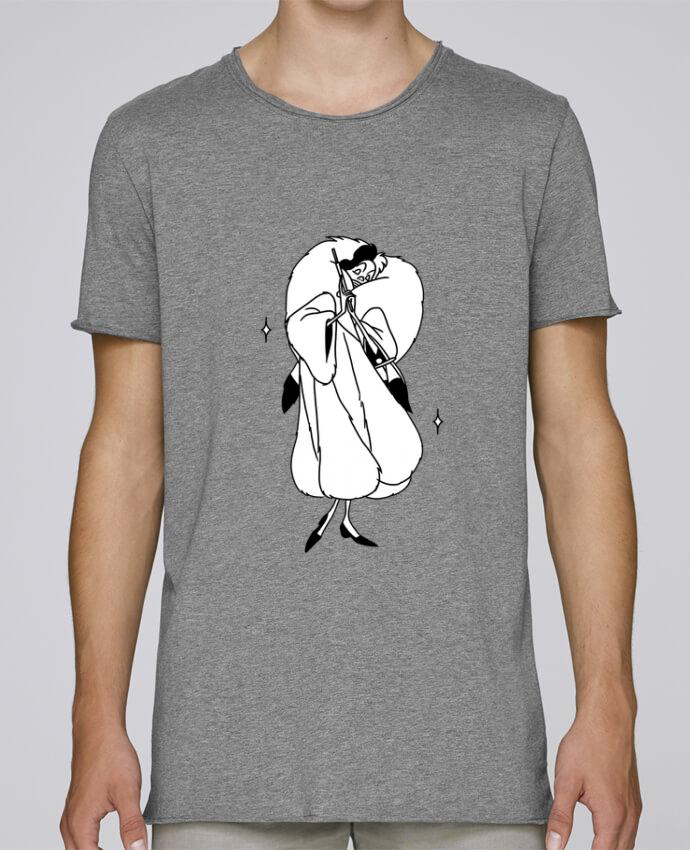 Camiseta Hombre Tallas Grandes Stanly Skates Cruella por tattooanshort