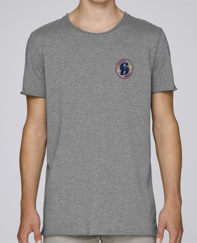 Camiseta Hombre Tallas Grandes Stanly Skates Con de drôle blason por tunetoo
