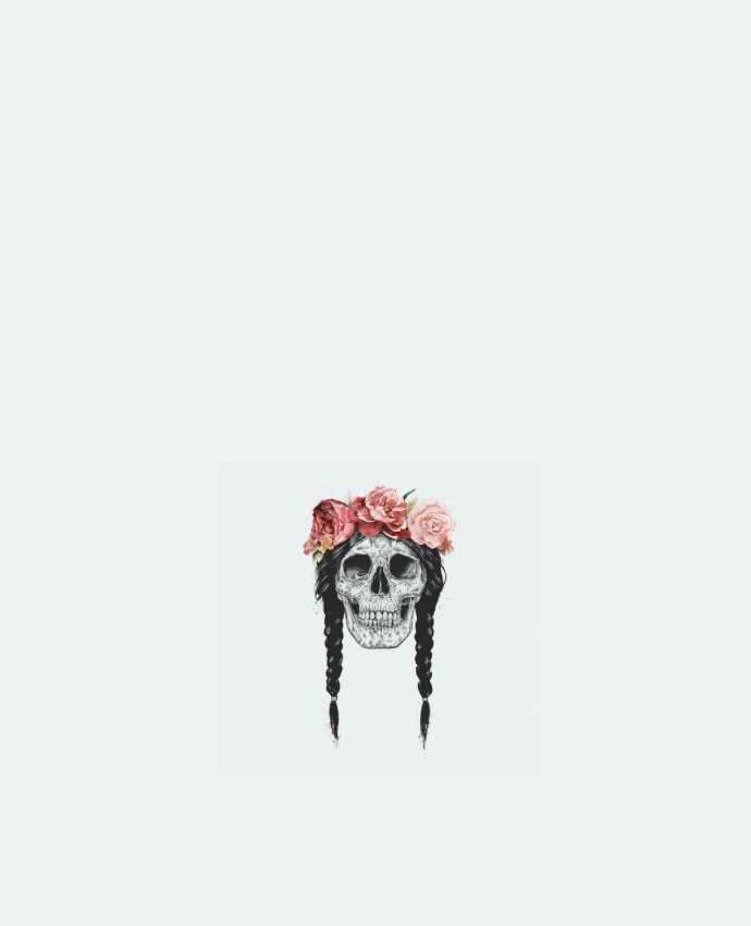 Bolsa de Tela de Algodón Festival Skull por Balàzs Solti