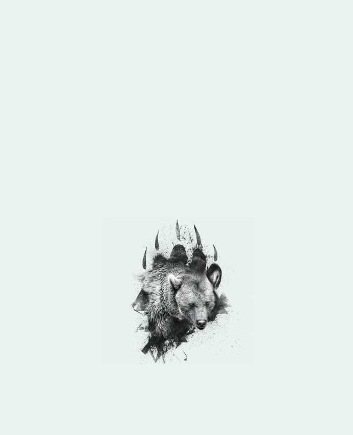 Bolsa de Tela de Algodón Bear footprint por WZKdesign