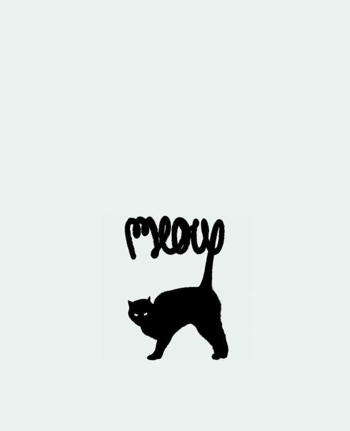 Bolsa de Tela de Algodón Meow por Florent Bodart