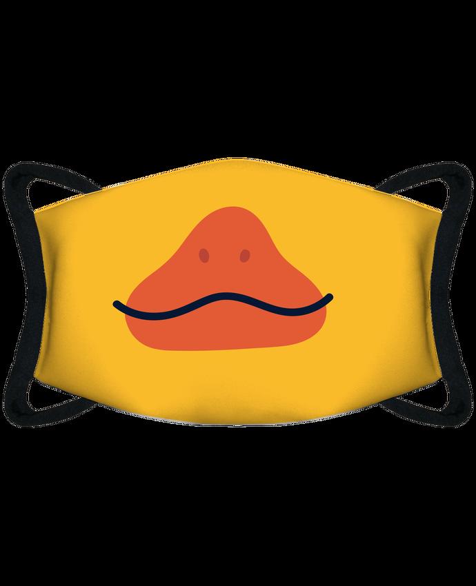Mascarilla de protección personalizada Bouche de canard por tunetoo