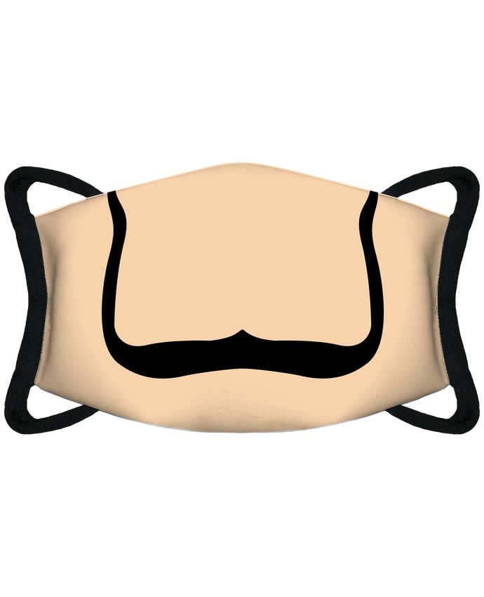 Mascarilla de protección personalizada Bouche moustache de Dali por tunetoo