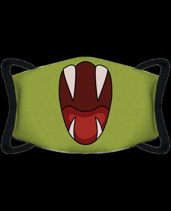 Mascarilla de protección personalizada Gueule de serpent por tunetoo
