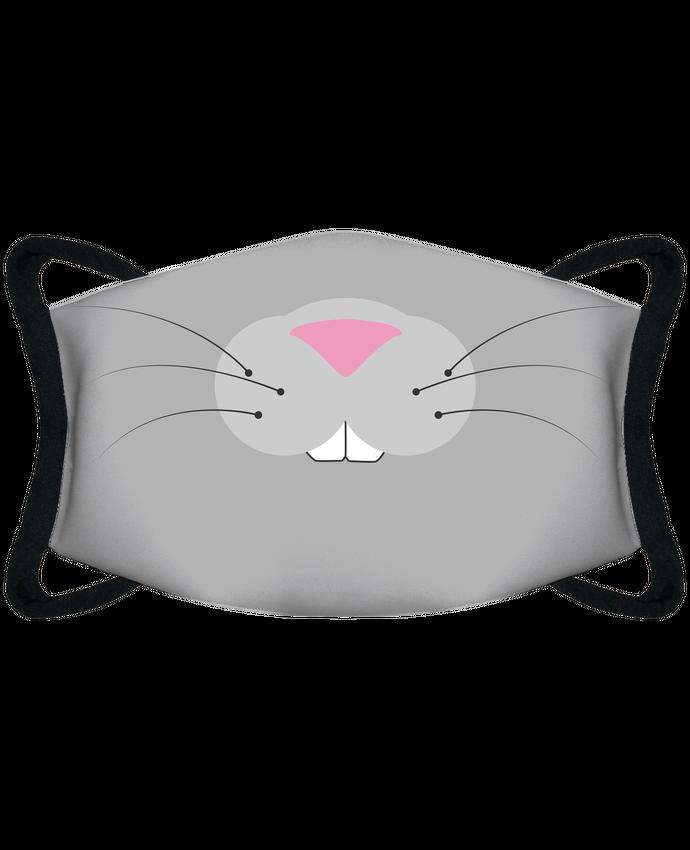 Mascarilla de protección personalizada Bouche de lapin por tunetoo