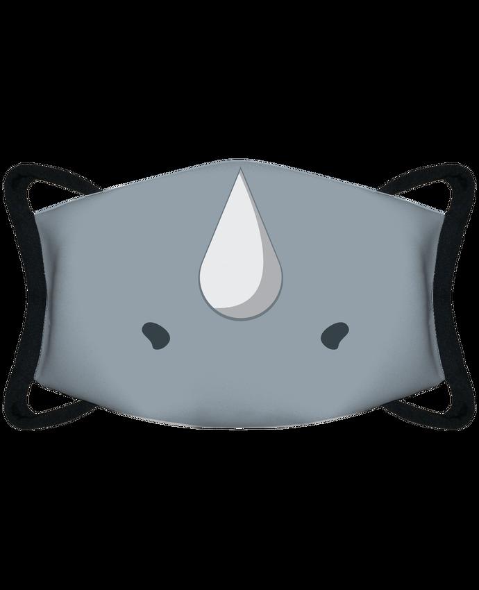 Mascarilla de protección personalizada Corne de rhinocéros por tunetoo