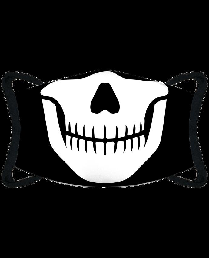 Mascarilla de protección personalizada Bouche squelette por tunetoo