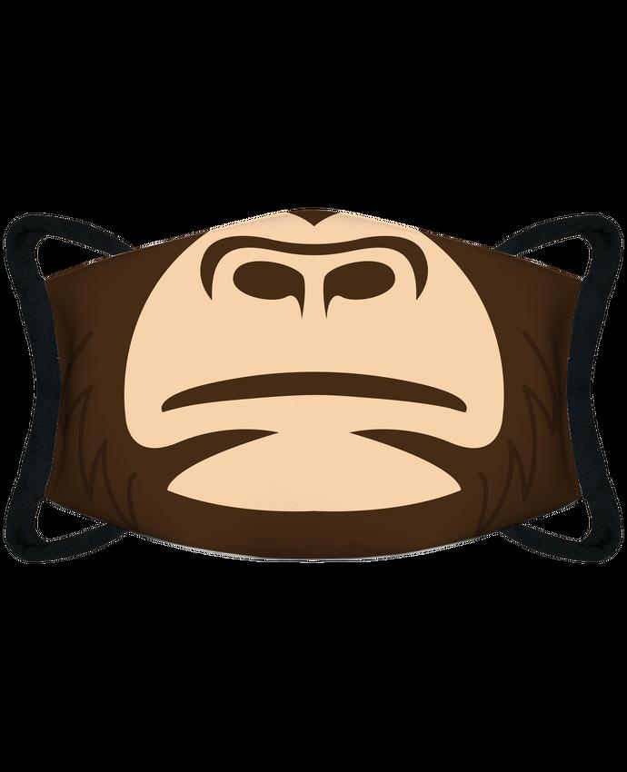 Mascarilla de protección personalizada Bouche gorille por tunetoo