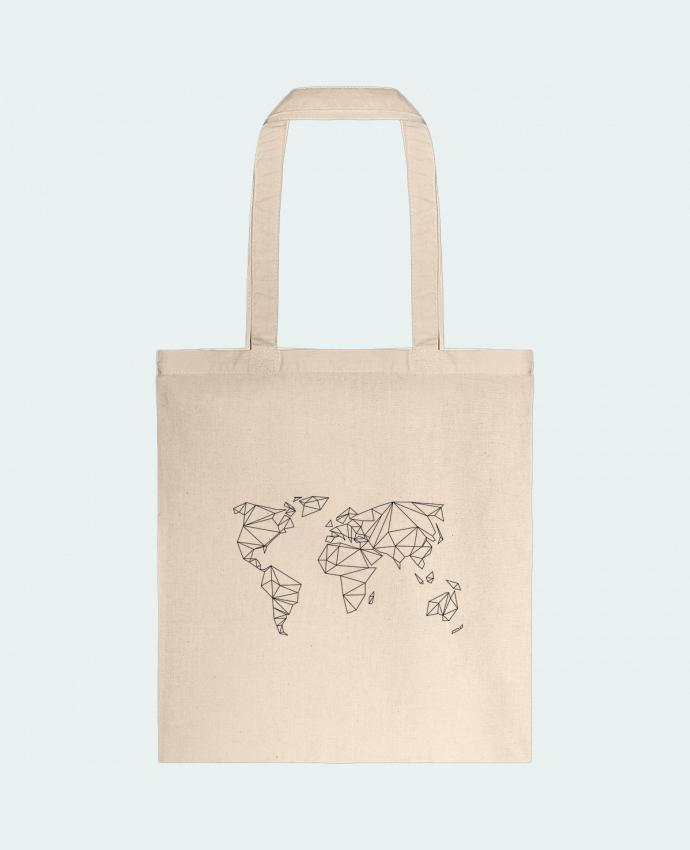 Bolsa de Tela de Algodón Geometrical World por na.hili