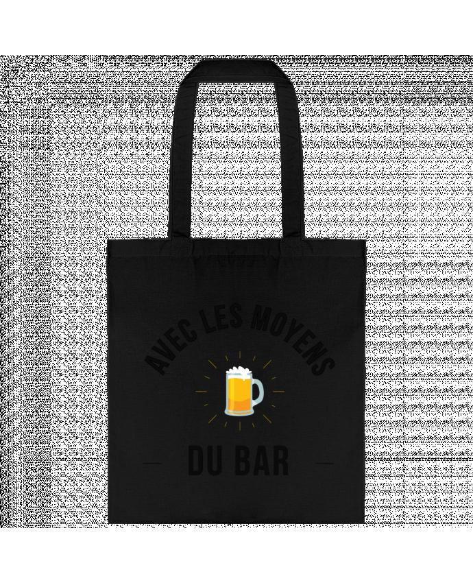 Bolsa de Tela de Algodón Avec les moyens du bar por Ruuud