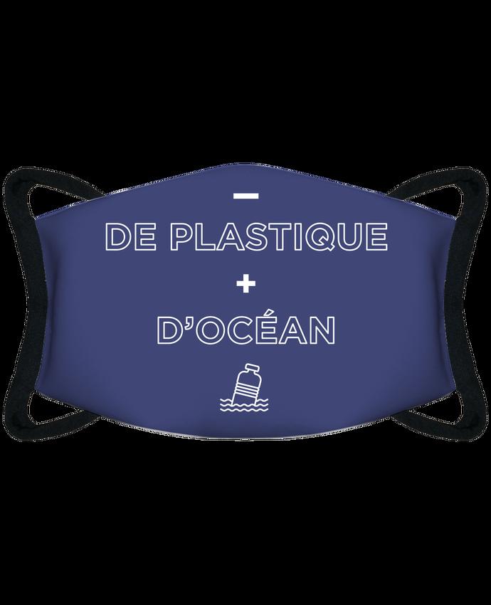Mascarilla de protección personalizada - de plastique + d'océan - Mascarilla de protección personalizada por tunetoo