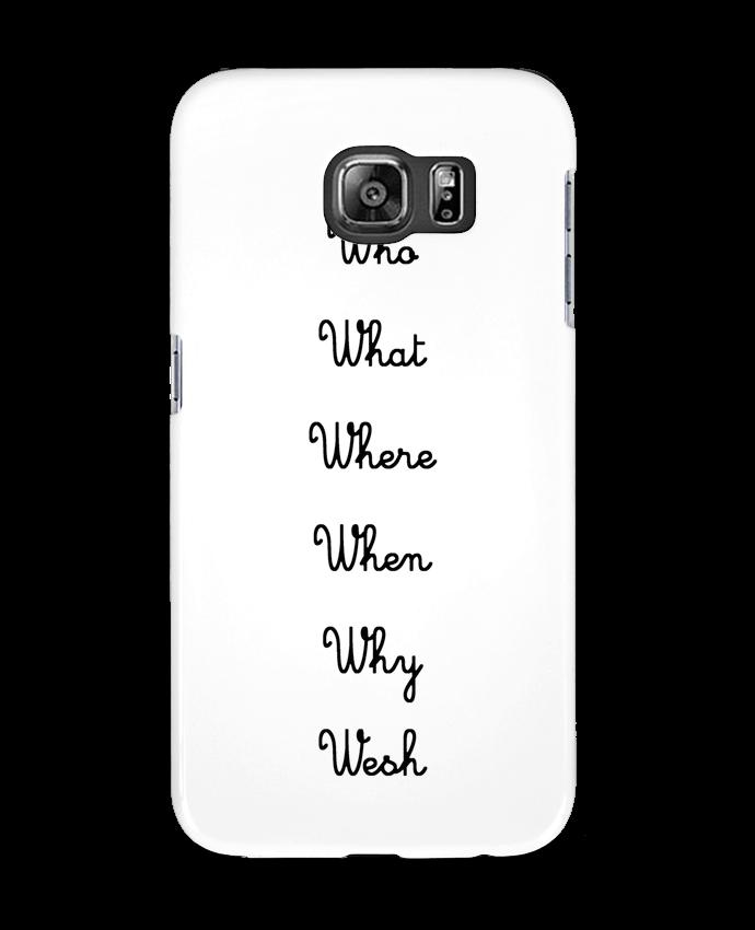 Carcasa Samsung Galaxy S6 5W - tattooanshort