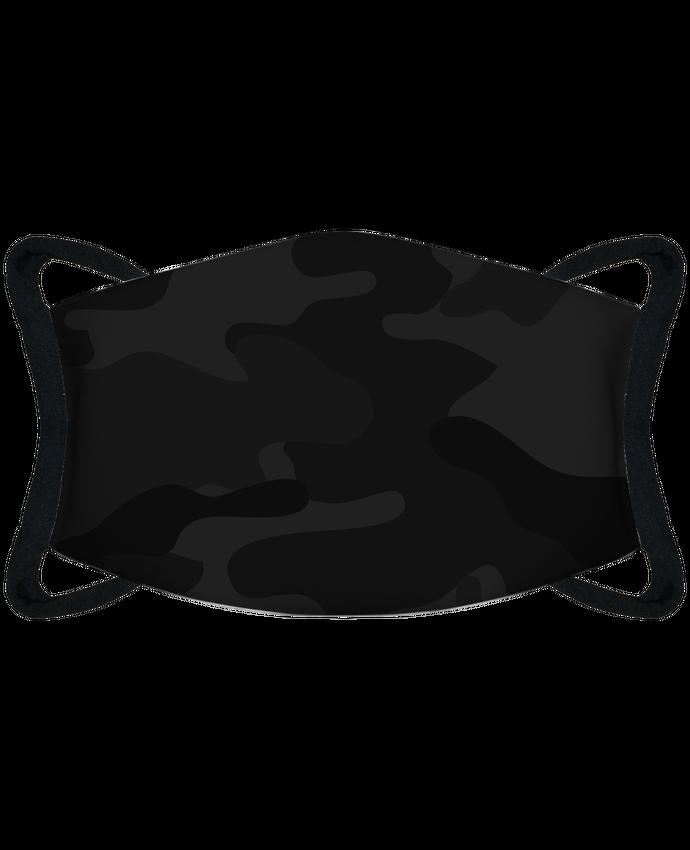Mascarilla de protección personalizada Mascarilla de protección personalizada Camouflage gris foncé por justsayin