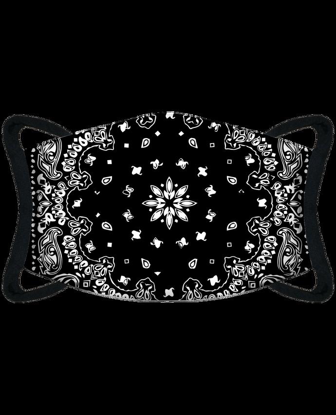 Mascarilla de protección personalizada Mascarilla de protección personalizada bandana noir por justsayin