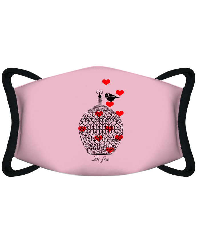 Mascarilla de protección personalizada Be free por Les Caprices de Filles
