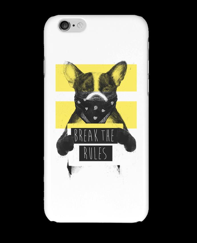 Carcasa  Iphone 6 rebel_dog_yellow por Balàzs Solti