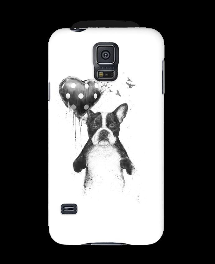Carcasa Samsung Galaxy S5 my_heart_goes_boom por Balàzs Solti
