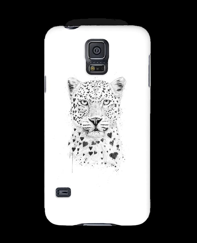 Carcasa Samsung Galaxy S5 lovely_leopord por Balàzs Solti
