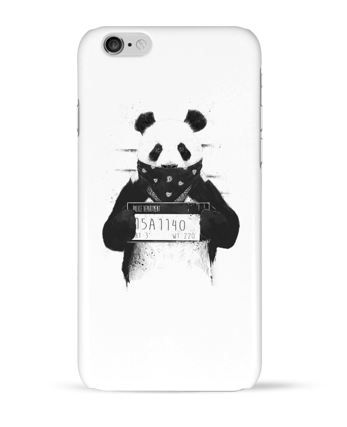 Carcasa  Iphone 6 Bad panda por Balàzs Solti