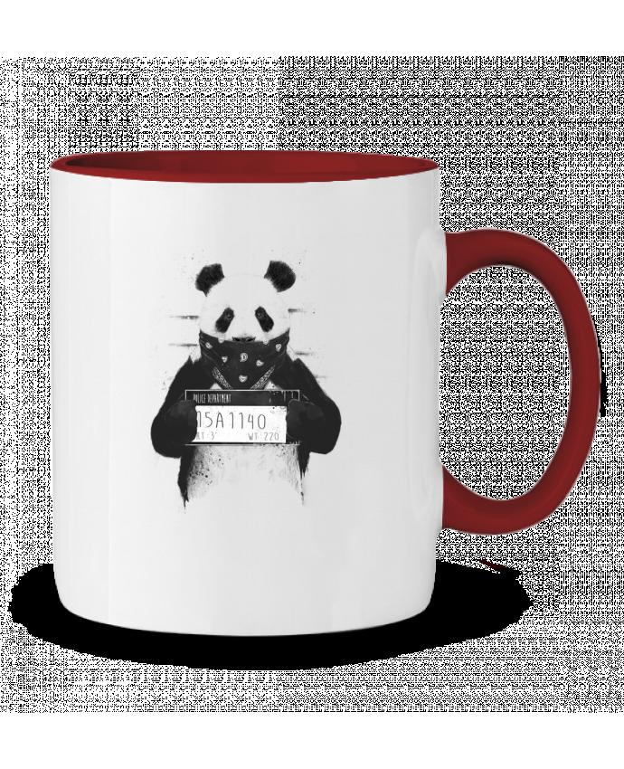 Taza Cerámica Bicolor Bad panda Balàzs Solti