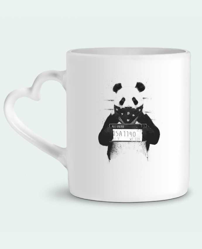 Taza Corazón Bad panda por Balàzs Solti