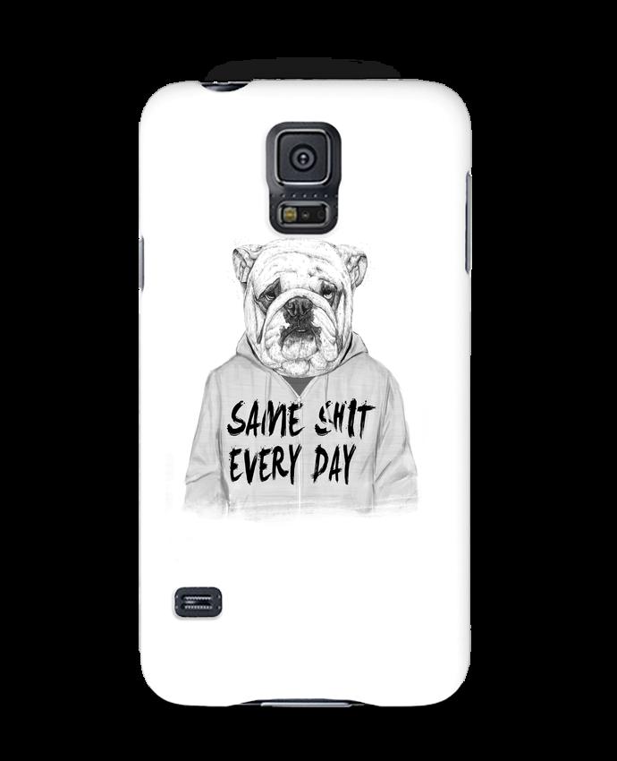 Carcasa Samsung Galaxy S5 Same shit every day por Balàzs Solti
