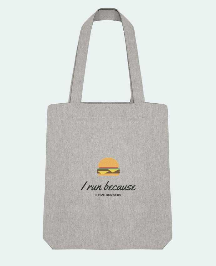 Bolsa de Tela Stanley Stella I run because I love burgers por followmeggy