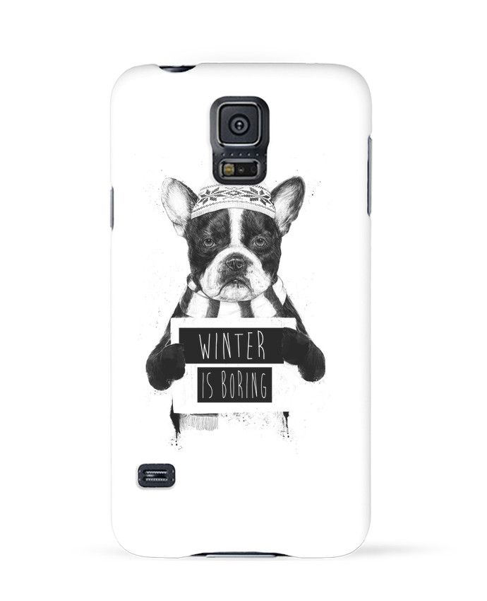 Carcasa Samsung Galaxy S5 Winter is boring por Balàzs Solti