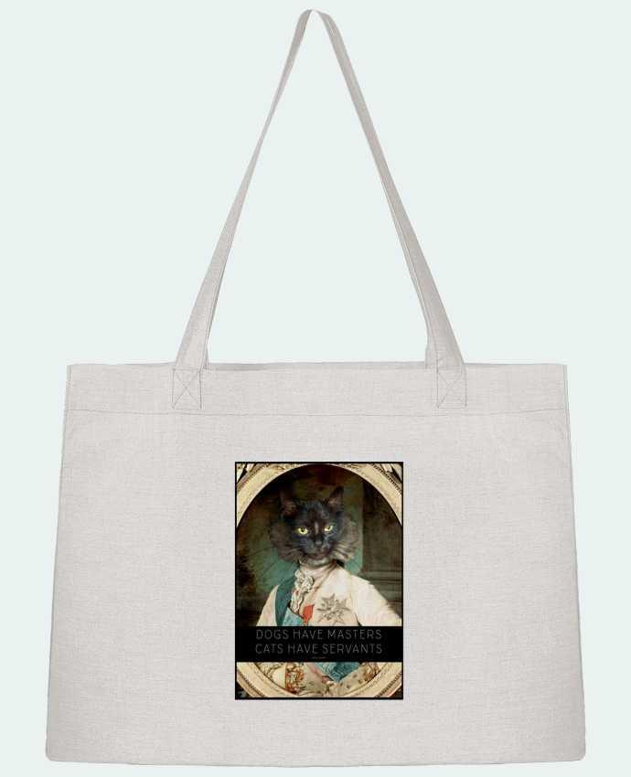 Bolsa de Tela Stanley Stella King Cat por Tchernobayle