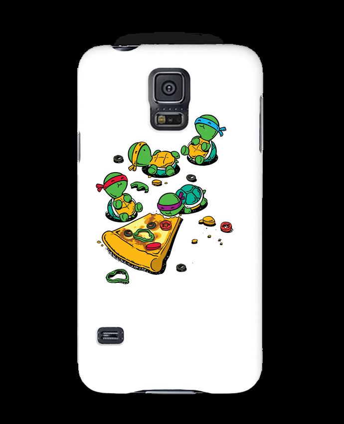 Carcasa Samsung Galaxy S5 Pizza lover por flyingmouse365