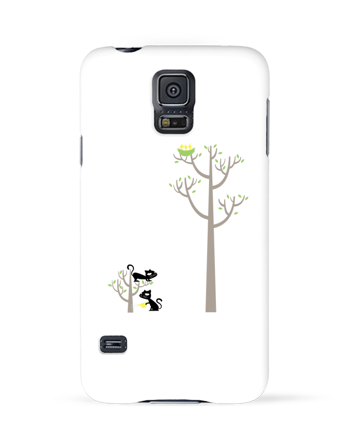 Carcasa Samsung Galaxy S5 Growing a plant for Lunch por flyingmouse365