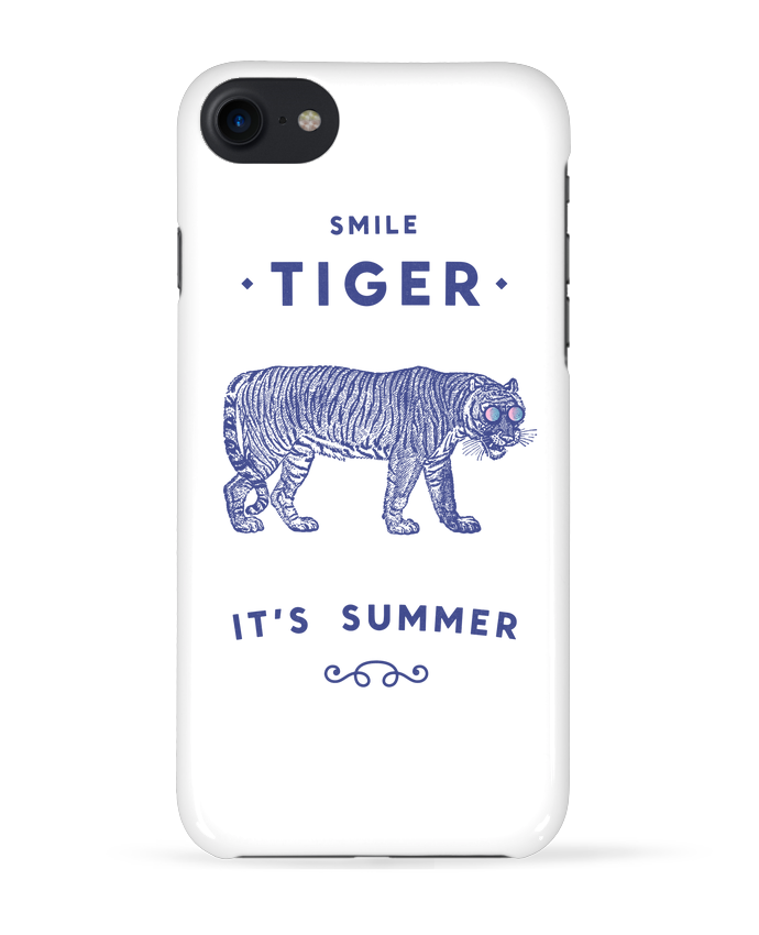 Carcasa Iphone 7 Smile Tiger de Florent Bodart