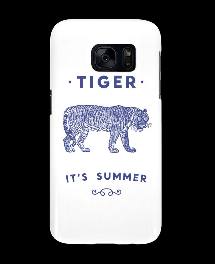 Carcasa Samsung Galaxy S7 Smile Tiger por Florent Bodart