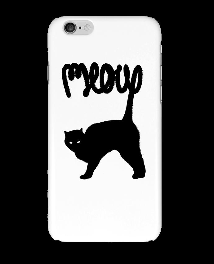 Carcasa  Iphone 6 Meow por Florent Bodart