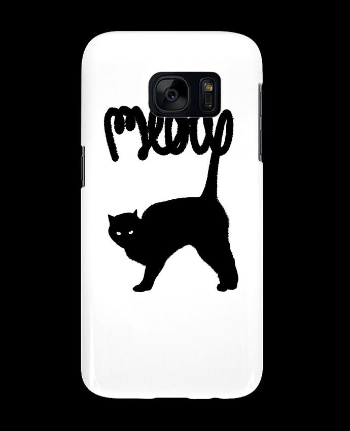 Carcasa Samsung Galaxy S7 Meow por Florent Bodart