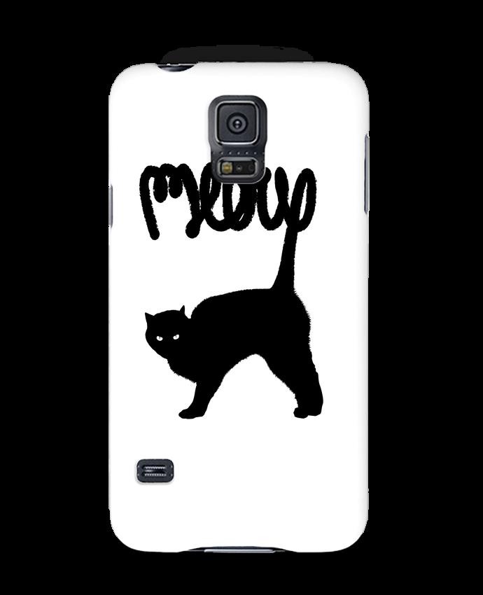 Carcasa Samsung Galaxy S5 Meow por Florent Bodart